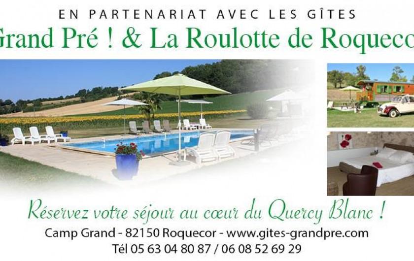 Location de vacances - Gîte à Roquecor - Nous joindre
