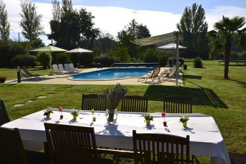 Location de vacances - Gîte à Roquecor - Vacances 3* à la campagne