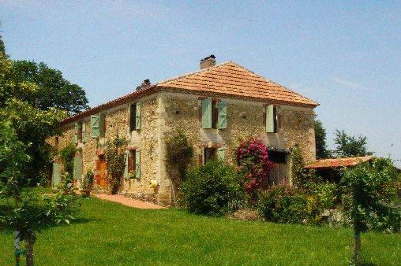 Location de vacances - Maison - Villa à Mirannes - Maison Bourgeoise de 210 m2 avec vue sur jardin et Pyrénées