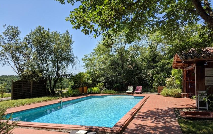 Location de vacances - Maison - Villa à Mirannes - Piscine Privée 5X10 Clôturée