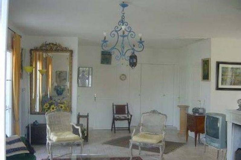 Location de vacances - Villa à Sainte-Marie-de-Ré - entrée plus salon
