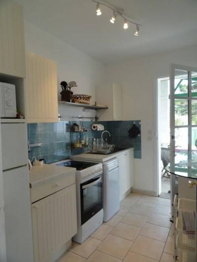 Location de vacances - Villa à Sainte-Marie-de-Ré - cuisine