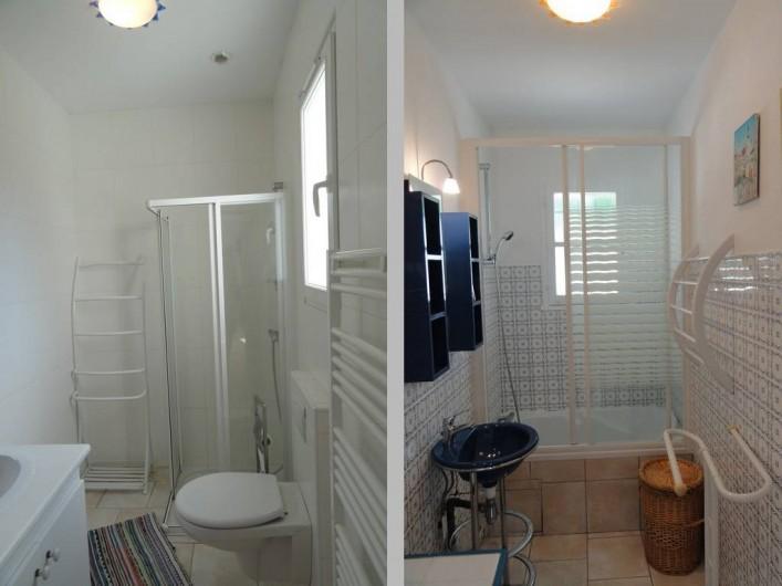 Location de vacances - Villa à Sainte-Marie-de-Ré - salle de bain et salle d'eau