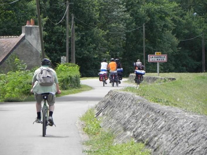Location de vacances - Gîte à La Chapelle-aux-Naux - La Loire à vélo