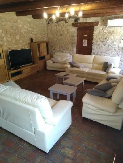 Location de vacances - Gîte à Seynes - SALON