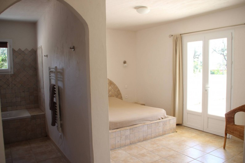 Location de vacances - Villa à Sainte-Lucie de Porto-Vecchio - CHAMBRE 2