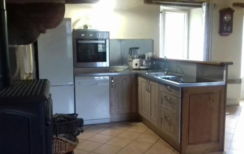 Location de vacances - Maison - Villa à Pontorson - Cuisine