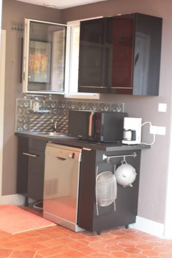 Location de vacances - Appartement à Sète - espace cuisine
