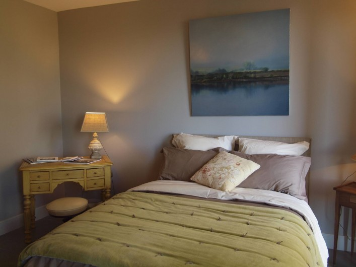 Location de vacances - Appartement à Sète - Chambre La Pointe Courte Lit 140 cm X 190 cm