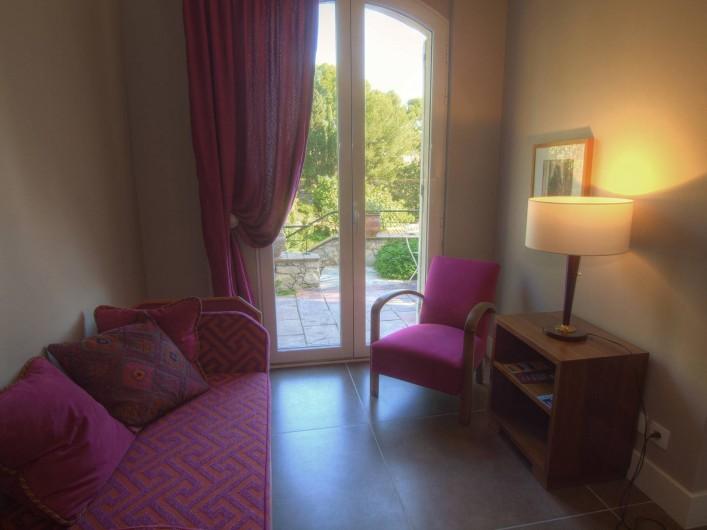 Location de vacances - Appartement à Sète - Salon chambre Saint Clair
