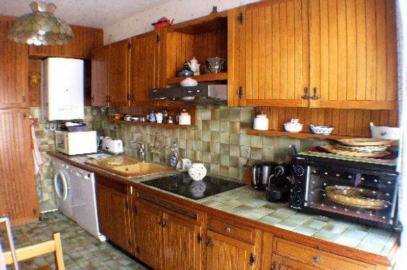 Location de vacances - Appartement à Roquebrune-Cap-Martin - cuisine équipée