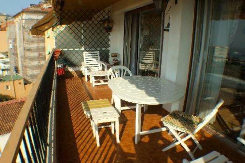 Location de vacances - Appartement à Roquebrune-Cap-Martin - terrasse