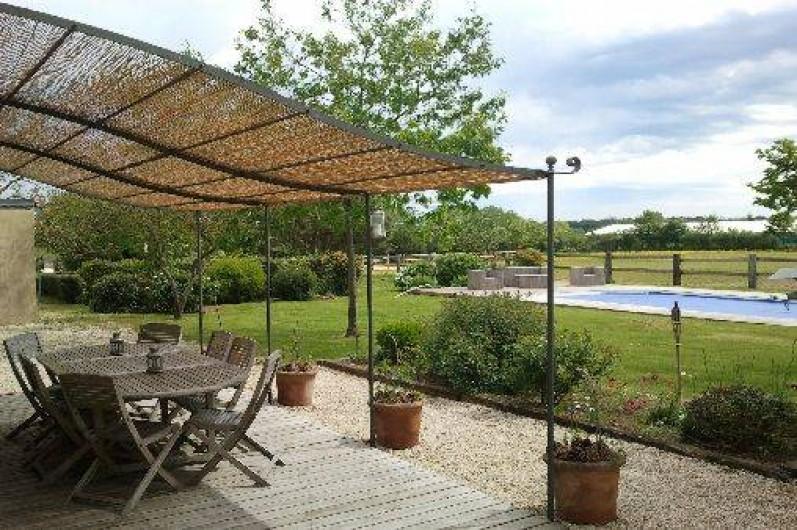 Location de vacances - Chambre d'hôtes à Sainte-Florence - TERRASSE