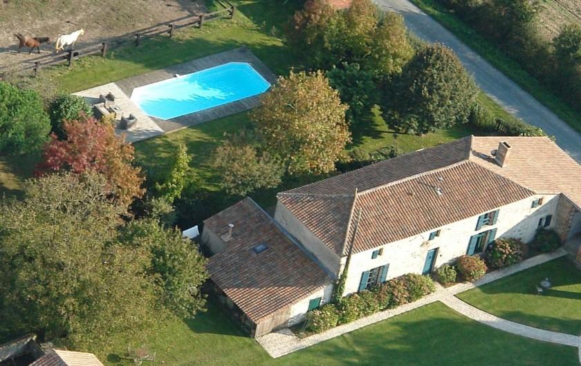 Location de vacances - Chambre d'hôtes à Sainte-Florence - VUE D'ENSEMBLE