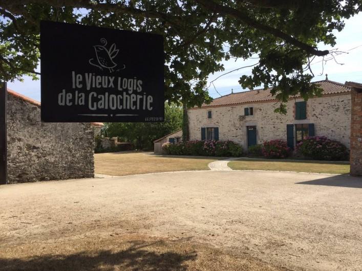 Location de vacances - Chambre d'hôtes à Sainte-Florence - BIENVENUE