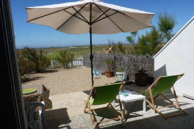 Location de vacances - Appartement à La Turballe - Terasse