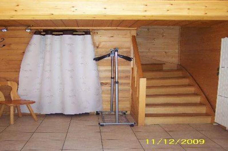 Location de vacances - Chalet à Le Grand-Bornand - Accès au 1er étage