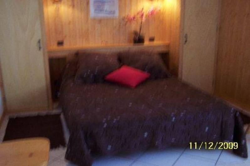 Location de vacances - Chalet à Le Grand-Bornand - Chambre parents