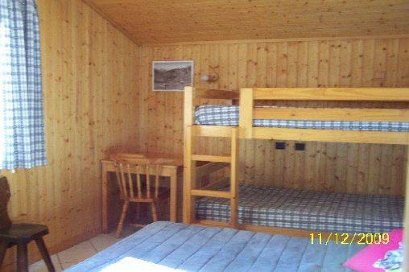 Location de vacances - Chalet à Le Grand-Bornand - Chambre enfants