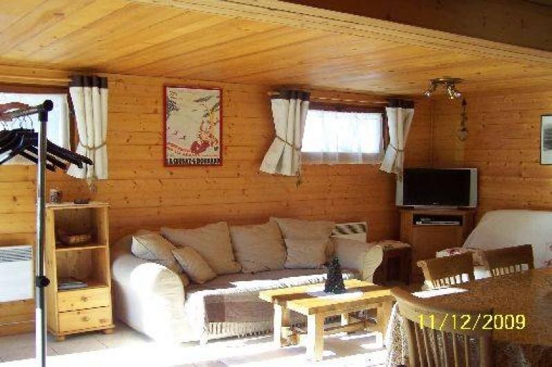 Location de vacances - Chalet à Le Grand-Bornand - salon