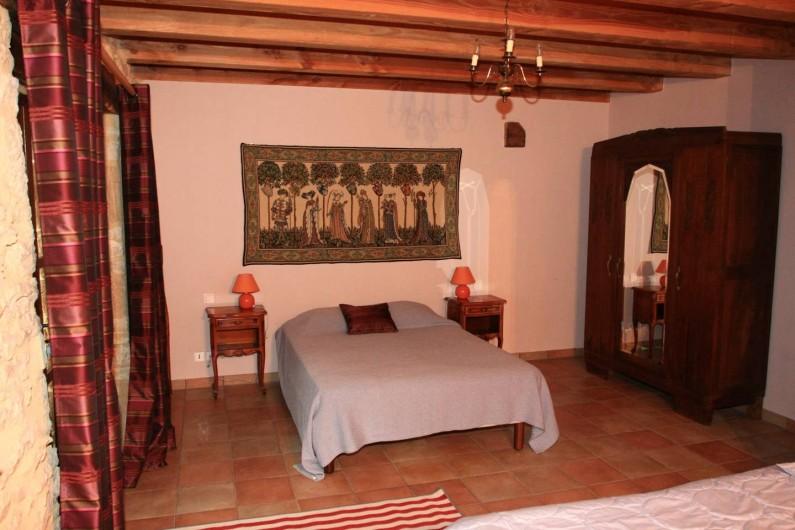 Location de vacances - Gîte à Dégagnac - Chambre au rèz de chaussée
