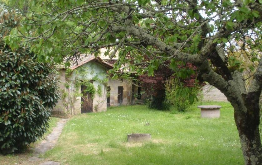 Location de vacances - Chambre d'hôtes à Saint-Médard-de-Guizières