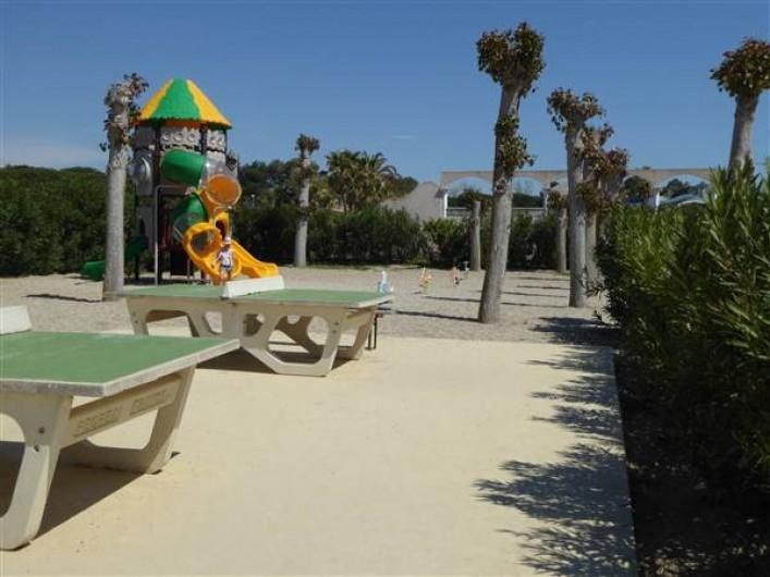 Location de vacances - Villa à Portiragnes Plage - Plaine de jeux