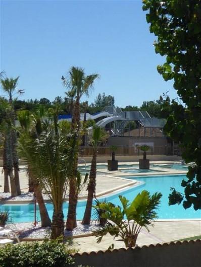 Location de vacances - Villa à Portiragnes Plage - Piscine 1 et jacuzzi's