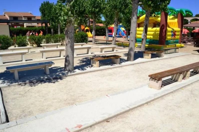 Location de vacances - Villa à Portiragnes Plage - Pistes de pétanque