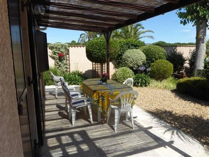 Location de vacances - Villa à Portiragnes Plage - Terrasse sud