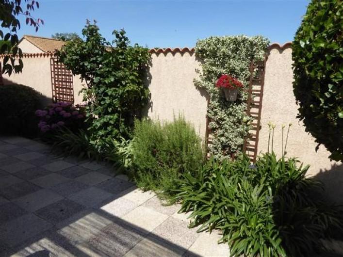 Location de vacances - Villa à Portiragnes Plage - Terrasse est
