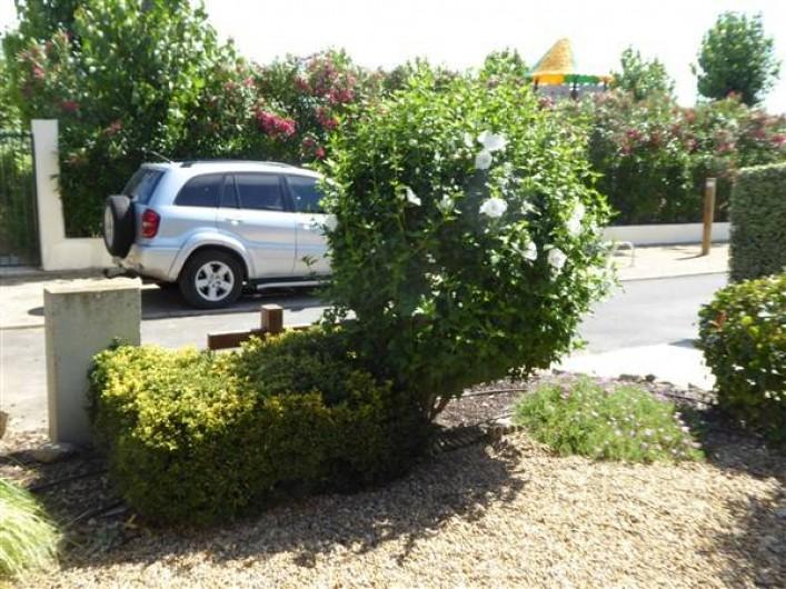 Location de vacances - Villa à Portiragnes Plage - Second parking (réservé)