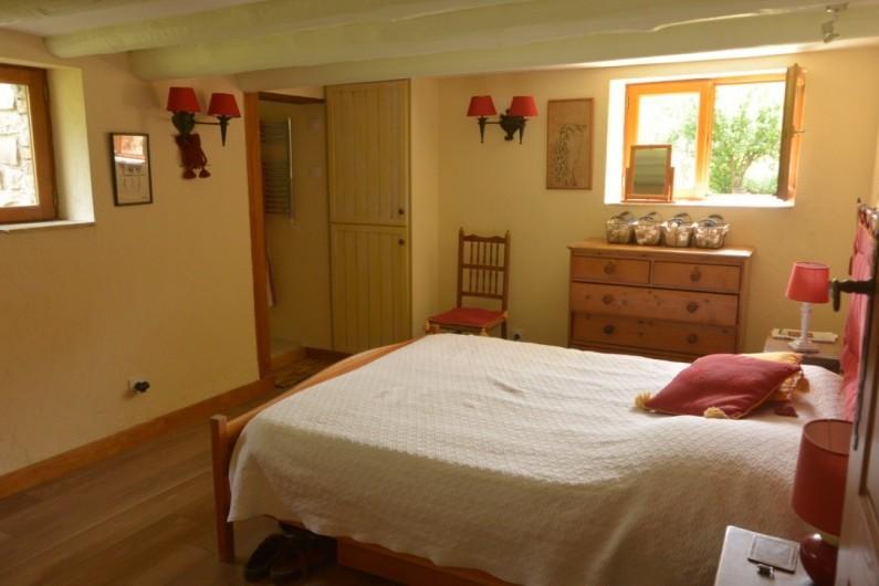 Location de vacances - Mas à Mourèze - Chambre 1 -