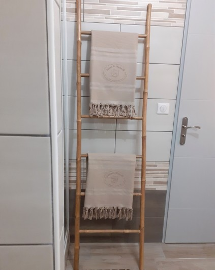 Location de vacances - Appartement à Le Mont-Dore - Détail salle de douche