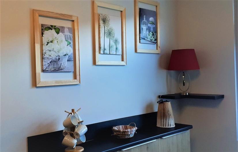 Location de vacances - Appartement à Le Mont-Dore - Détail déco pièce de vie
