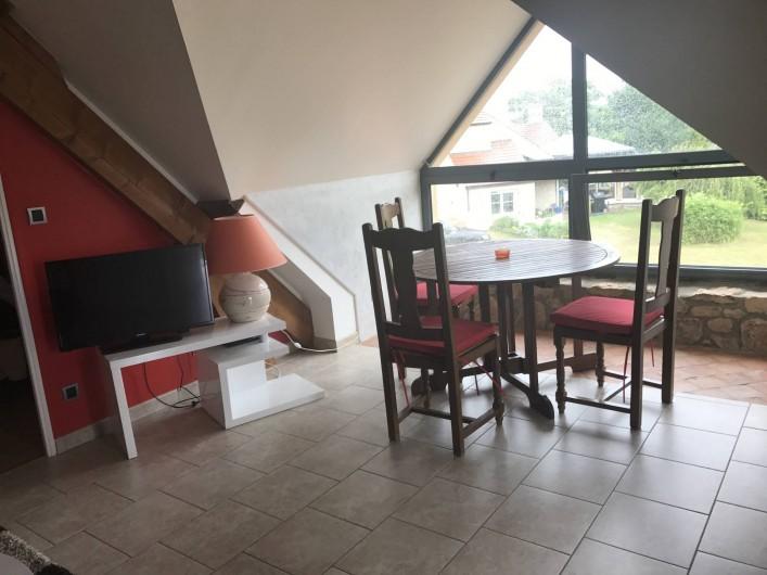 Location de vacances - Appartement à Rouvray - COIN REPAS