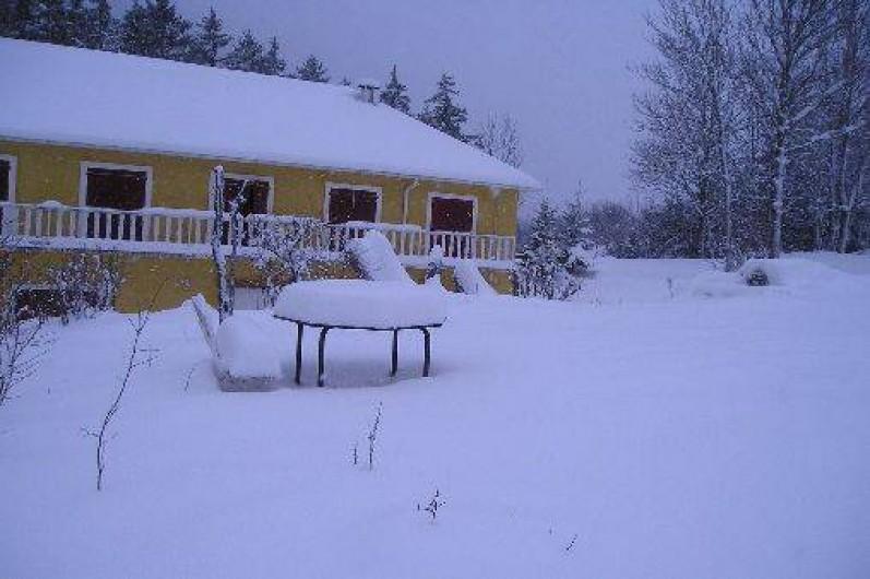 Location de vacances - Chambre d'hôtes à Lus-la-Croix-Haute - Hiver