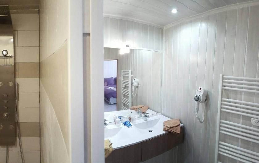 Location de vacances - Chambre d'hôtes à Lus-la-Croix-Haute - salle  d eau Kipling
