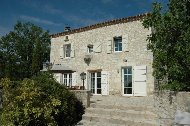 Location de vacances - Maison - Villa à Lauzerte - La Colamine - une ferme de pierre Quercy