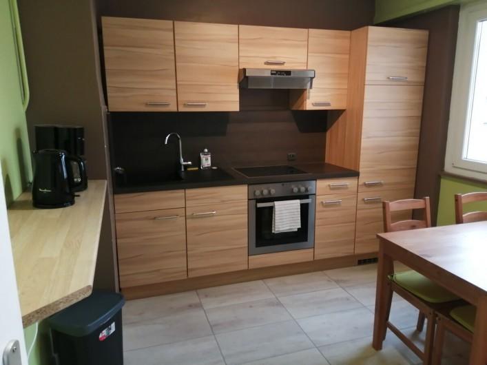 Location de vacances - Appartement à Colmar - cuisine équipée
