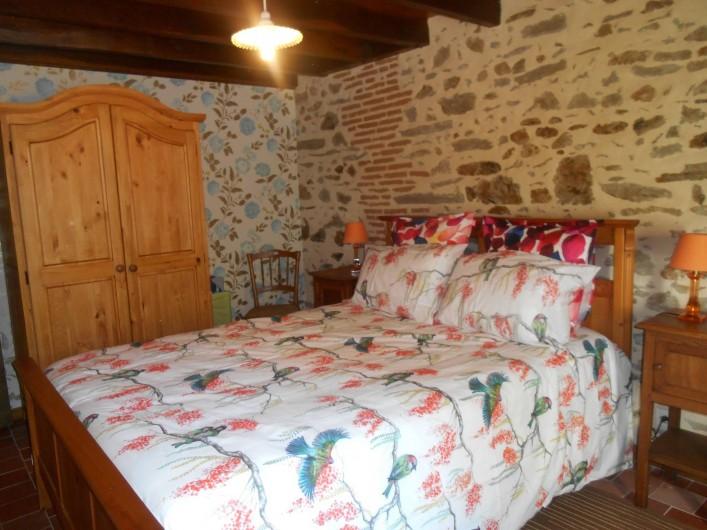 Location de vacances - Maison - Villa à Nouzerolles - chambre bleue