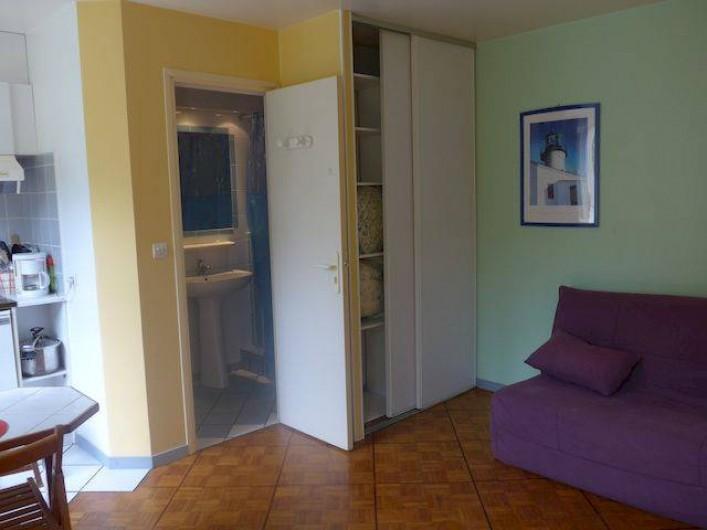 Location de vacances - Studio à Vannes - STUDIO SUR LES SENTIERS COTIERS n°1