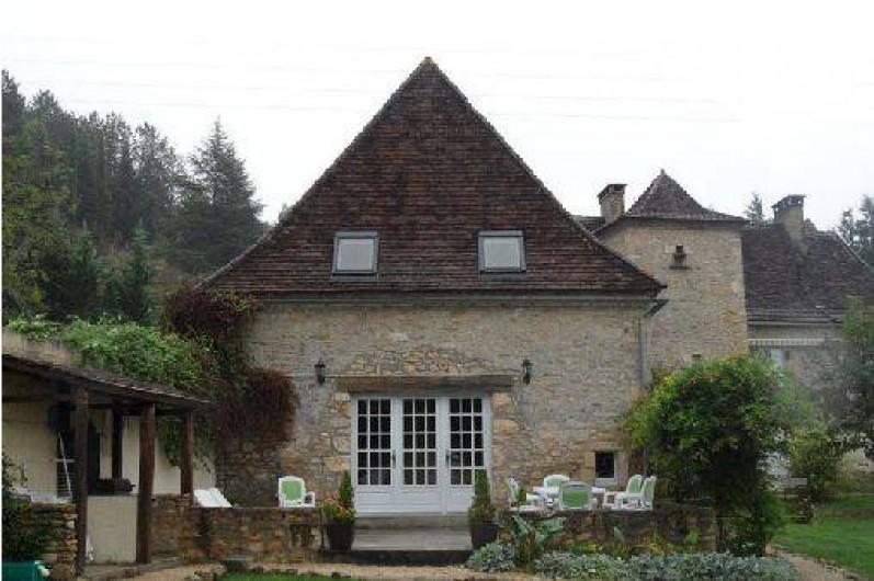 Location de vacances - Gîte à Saint-Chamassy - terrasse