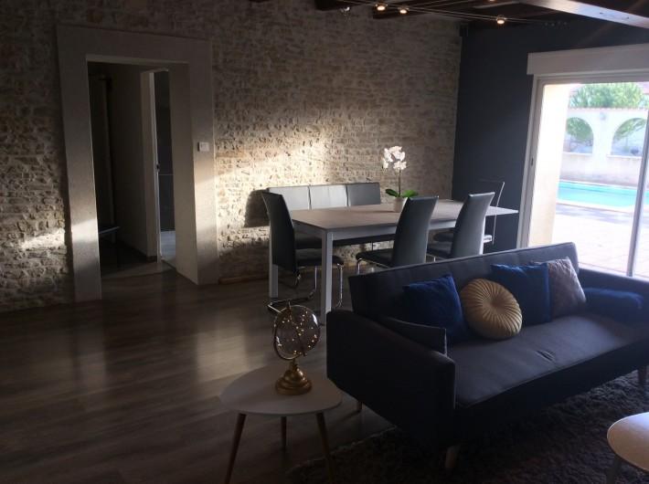 Location de vacances - Villa à Nantille - Salon-salle à manger