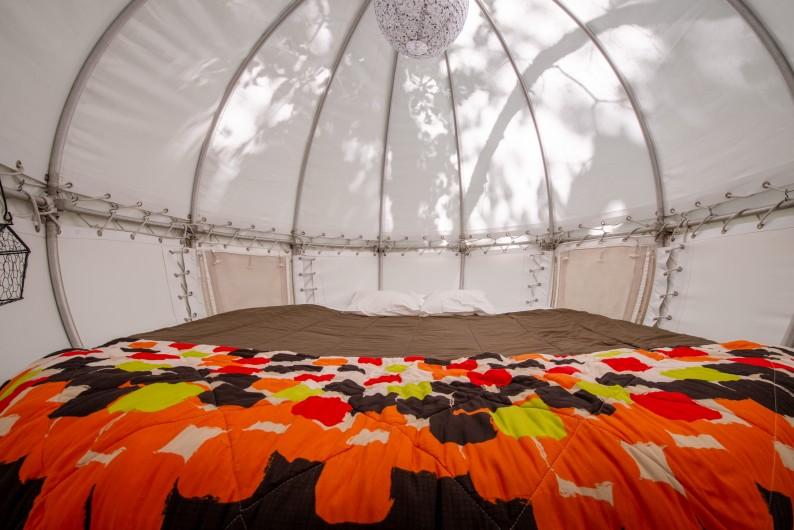 Location de vacances - Yourte à Barjac - Yourte spacieuses et confortables pour 2 à 5 personnes