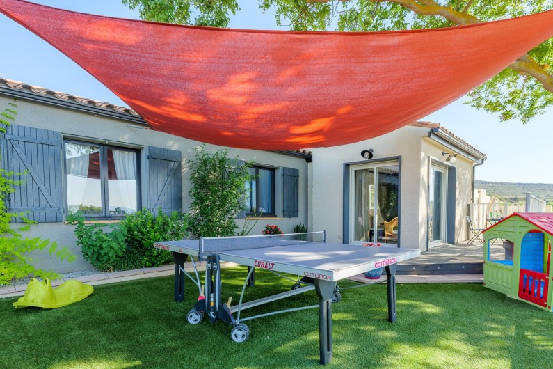 Location de vacances - Villa à Conilhac-Corbières - SALLE DE CINEMA