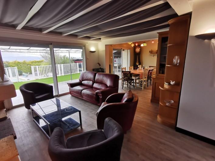 Location de vacances - Villa à Conilhac-Corbières - salon salle de tv