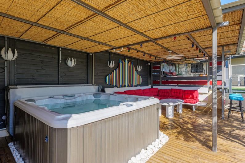 Location de vacances - Villa à Conilhac-Corbières - ESPACE DETENTE LOUNGE