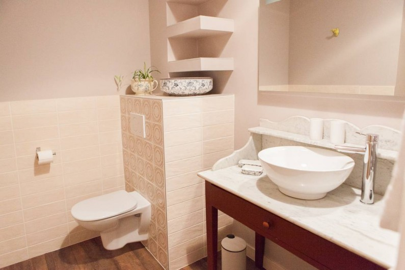 Location de vacances - Gîte à Saint-Antonin-Noble-Val - et sa salle d'eau privative