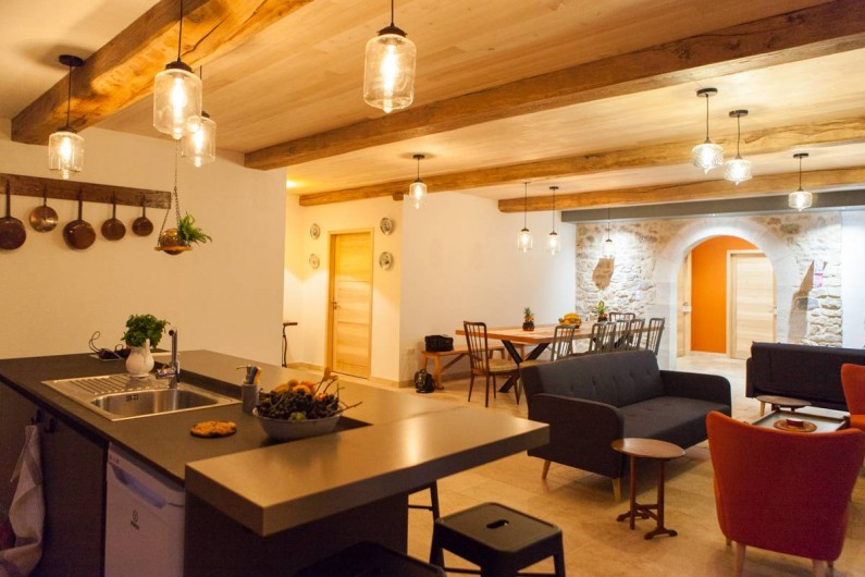 Location de vacances - Gîte à Saint-Antonin-Noble-Val - La convivialite est au rendez-vous